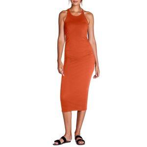 Michael Stars Racerback Midi Dress Penny Size S